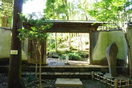 日本庭園の入り口