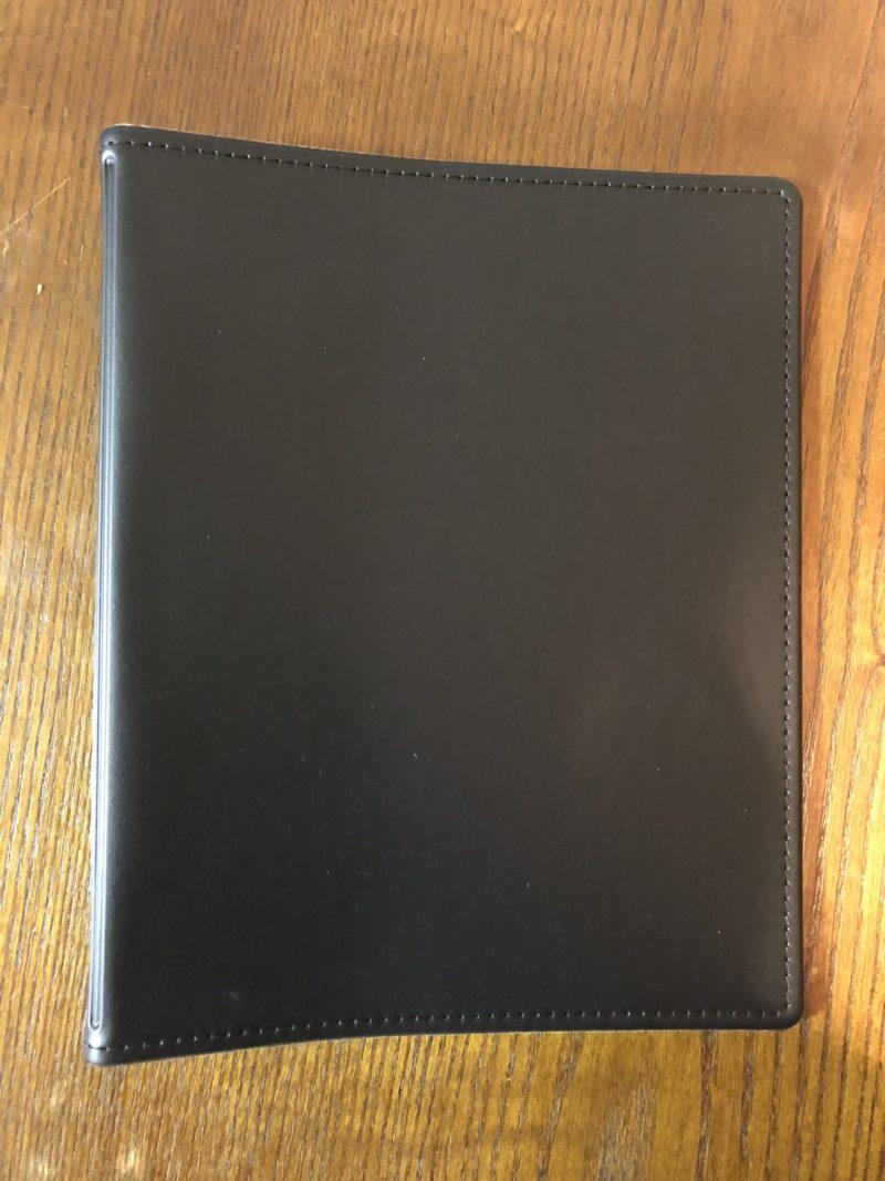 レイメイ藤井 リフィルファイル A5 PVC ブラック WAF151B表紙