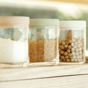 珪藻土の食品保存ケース